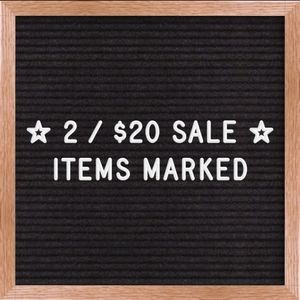 ❗2/$20❗ Sale on Marked Items